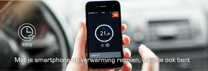 over te bedienen met smartphone, de slimste thermostaat
